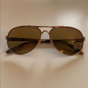 Oakley rose gold sunglasses